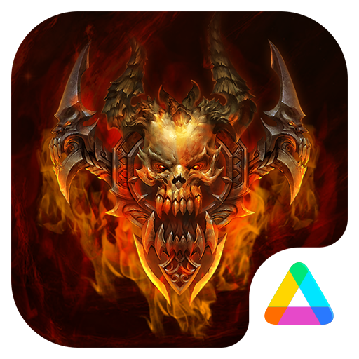 Hell Fire Theme for Android