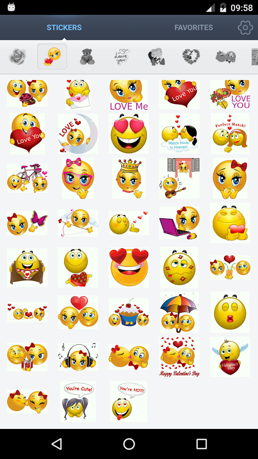 Love Stickers- screenshot