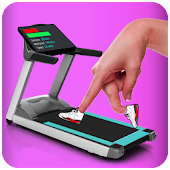 Finger Treadmill Running