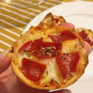 Mini Tortilla-Crust Pizzas Recipe