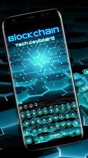 Ripple Block Chain Keyboard 10001003 screenshots 1