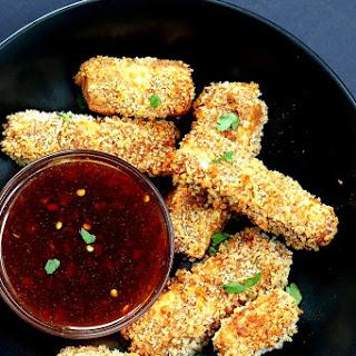 Crispy Tofu with Sweet Chili Sauce