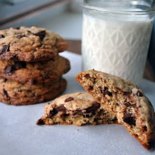 Puffy, Chewy, Crisp Chocolate Chip Cookies.