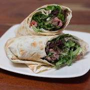 Peppered Grilled Steak Wrap