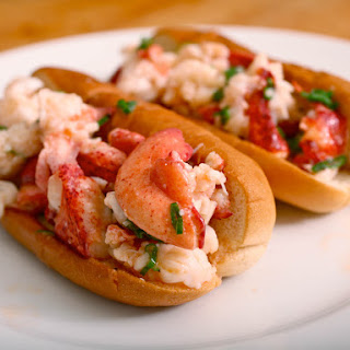 Connecticut-Style Warm Buttered Lobster Rolls.