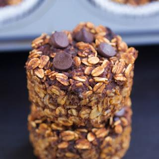 Chocolate Breakfast Oatmeal Cupcakes – To Go!
