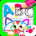 ABC DRAW! Alphabet games Preschool! Kids DRAWING 2 icon