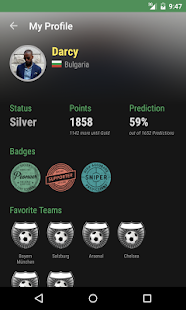 The Soccer Livescore App - screenshot thumbnail