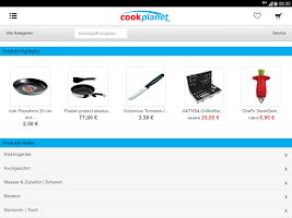 Screenshot of cookplanet