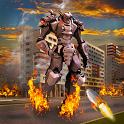 Robot Earth War Transformation icon