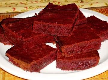 Red Velvet Brownies (Sugar Free)