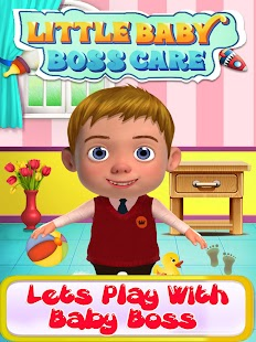 Little Baby Boss Care& DressUp -Free kids games - náhled