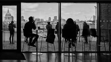 Photo: London #39 - a room with a view...  #street #streetphotography #shootthestreet #blackandwhite #blackandwhitephotography #bw #monochrome #london
