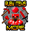 Ruby Items for Minecraft PE icon