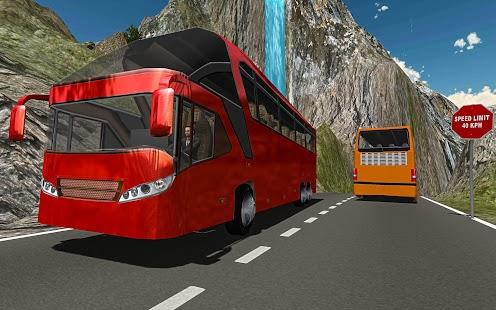Extreme Coach Bus Simulator 3D - náhled