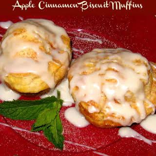Apple Cinnamon Biscuit Muffins.