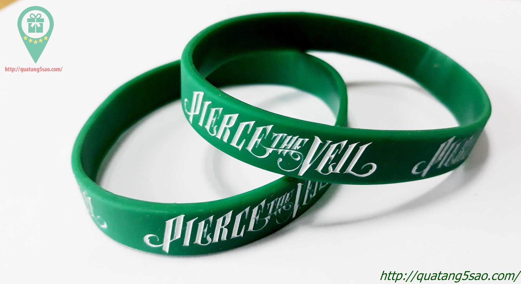 Vòng tay cao su Pierce The Veil
