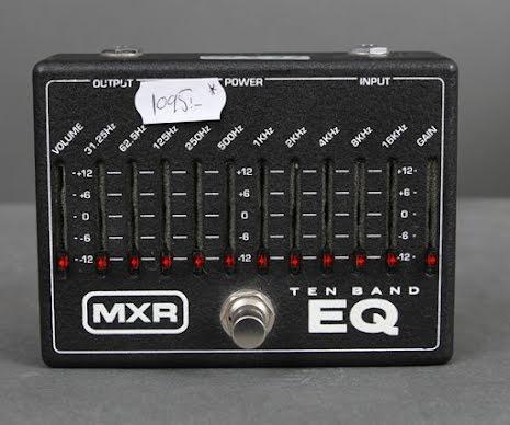 MXR Ten-Band EQ USED - Good Condition - Box no PSU