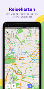 OsmAnd+ — Offline-Reisekarten und Navigation Screenshot