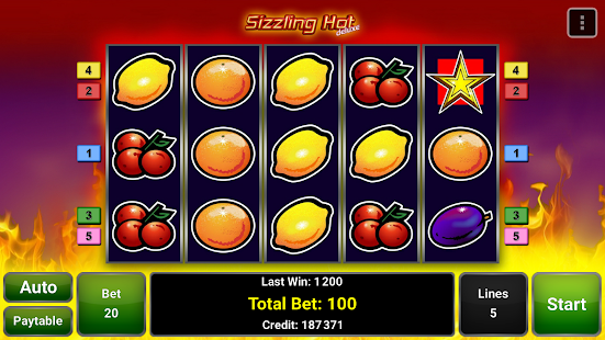 Sizzling Hot™ Deluxe Slot - screenshot thumbnail