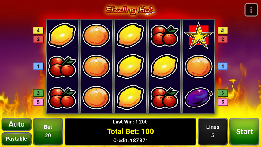 android Sizzling Hot™ Deluxe Slot Screenshot 10