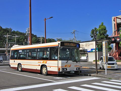 御坊南海バス ・226 御坊駅にて