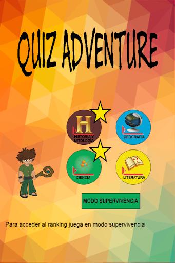Quiz Aventura Preguntas