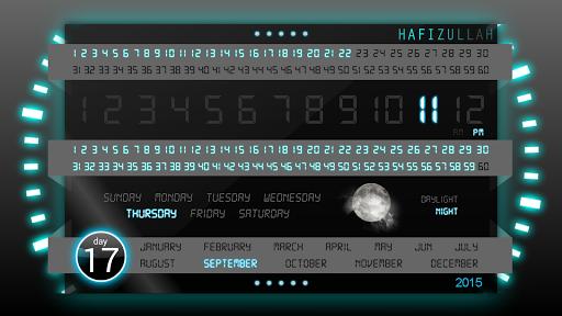 Futuristic Design Clock
