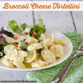Broccoli Cheese Tortellini