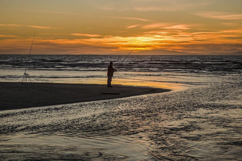 Pescatore al tramonto di Giorgiopaggetti