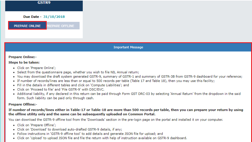 How to file GSTR-9 on GST Portal: Step-by-step Guide