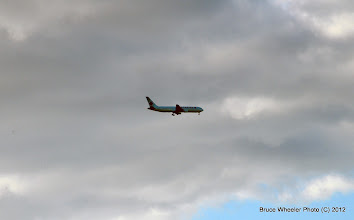 Photo: Air Canada on final approach to OGG...