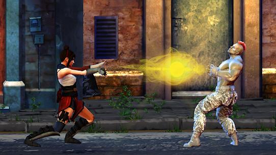 فتاة الساموراي: ألعاب القتال الحر للسيدات السوبر 6