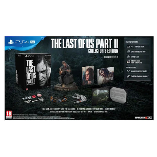 Spel PS  4. The Last of Us Part II Collectors Edition