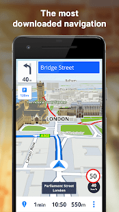 Sygic - GPS, Navigation & Maps Screenshot