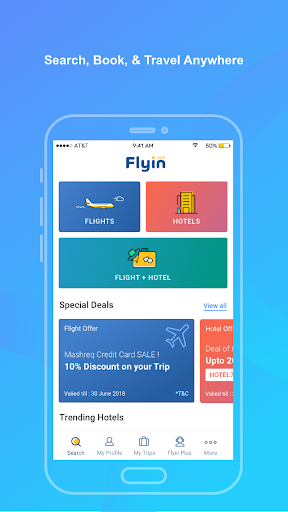 Flyin.com - Flights and Hotels 3.6 screenshots 1
