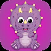 Kids Dinosaur Scratch Off Game