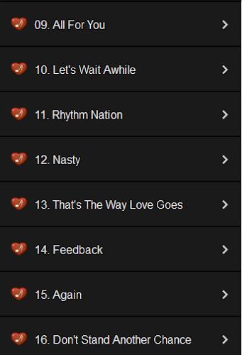 Janet Jackson Lyrics APK 1 1