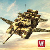 Flying War Tank Simulator