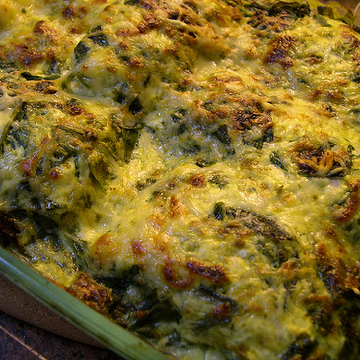 Hake Medallions with Spinach and Cheese Recipe