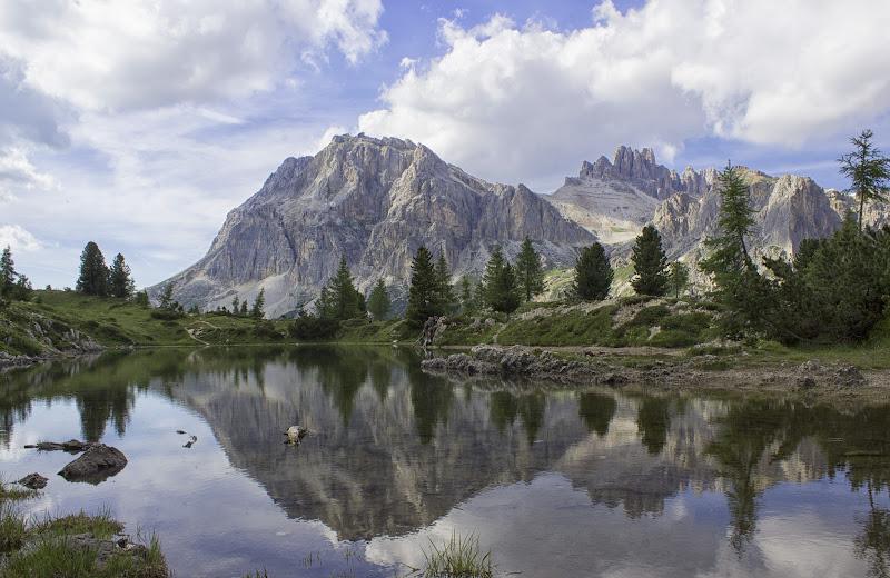 Lago ai piedi del Nuvolau di Simone Candian