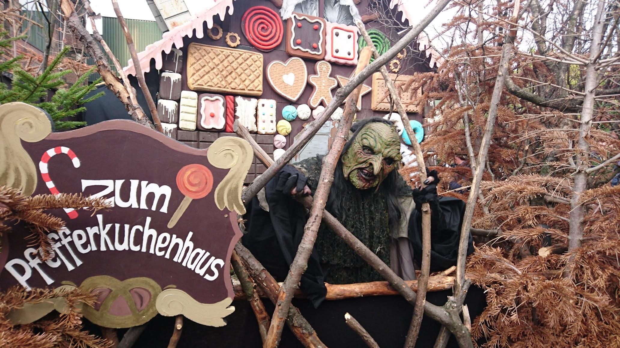 Grusellabyrinth NRW Bottrop Halloween Hexe Mär