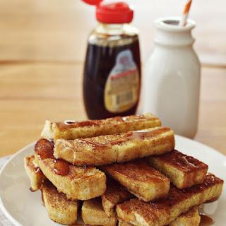 Baked French Toast Sticks February 19, 2013.