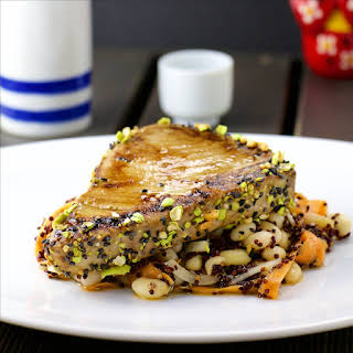 Tuna Tataki With Crunchy Wasabi.