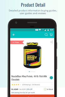 HealthKart Shopping App- screenshot thumbnail