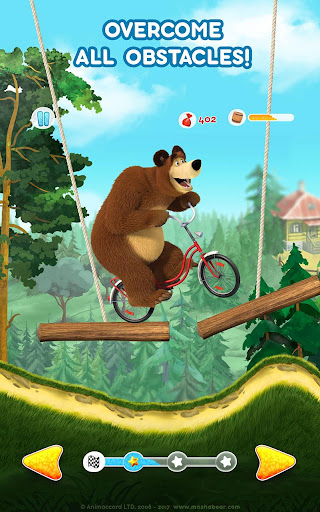 Masha and the Bear: Climb Racing and Car Games 0.0.3 screenshots 23