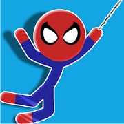 Spider Stick-man Swing
