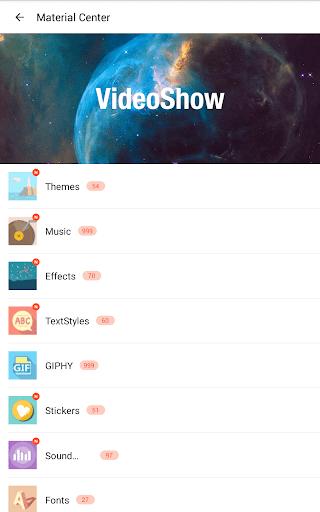 VideoShow Video Editor, Video Maker, Beauty Camera  screenshots 17