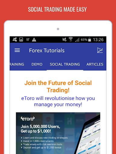 Forex Tutorials - Trading for Beginners  screenshots 13