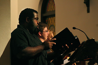 Photo: Dec. 2006: Sacred Music from Italy & Germany. St. John's Episcopal Church; Reggie Mobley, Sean Linfors